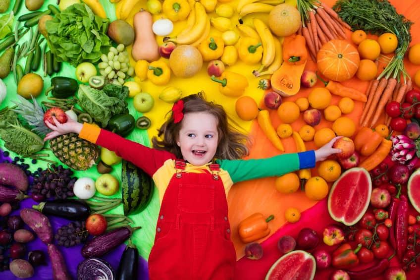 A Rainbow of Healthy Options